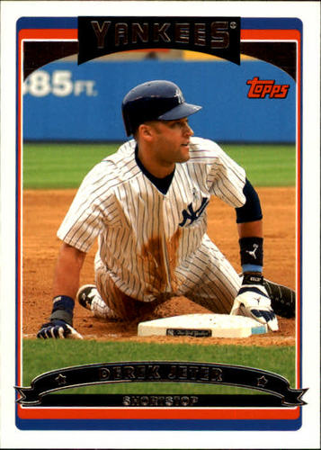 Photo of 2006 Topps #500 Derek Jeter
