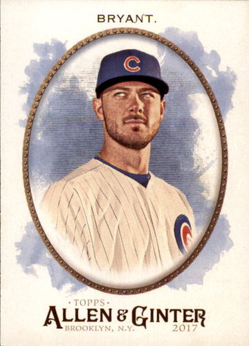 Photo of 2017 Topps Allen and Ginter #1 Kris Bryant