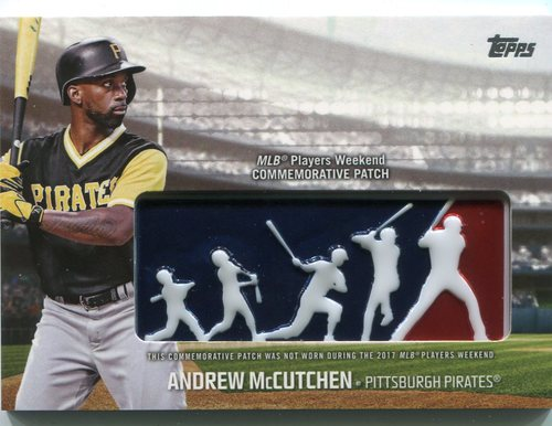 Photo of 2018 Topps Players Weekend Patches #PWPAM Andrew McCutchen