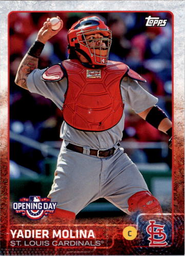 Photo of 2015 Topps Opening Day #131 Yadier Molina