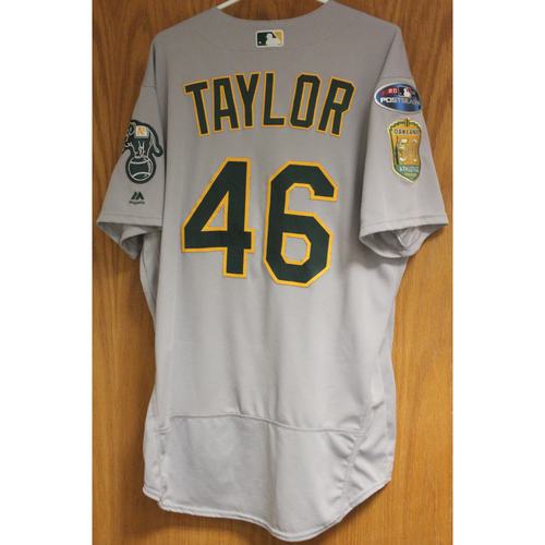 Photo of Game-Used Beau Taylor 2018 Jersey