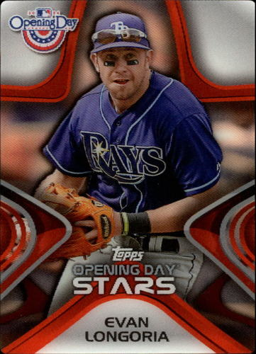 Photo of 2014 Topps Opening Day Stars #ODS24 Evan Longoria