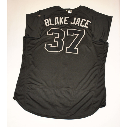 "Photo of Bobby ""BLAKE JACE"" Wilson Detroit Tigers Team-Issued 2019 Players' Weekend Jersey"