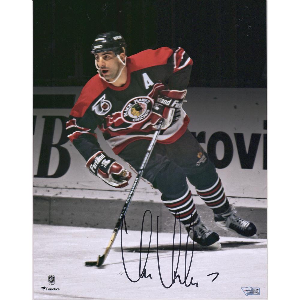 Chris Chelios Chicago Blackhawks Autographed 11