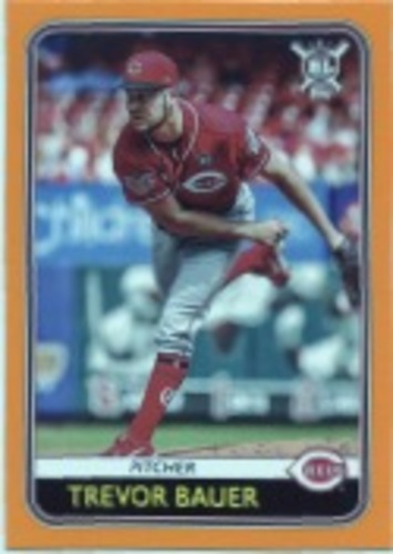 Photo of 2020 Topps Big League Orange #201 Trevor Bauer