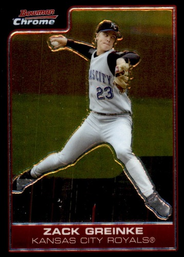 Photo of 2006 Bowman Chrome #12 Zack Greinke