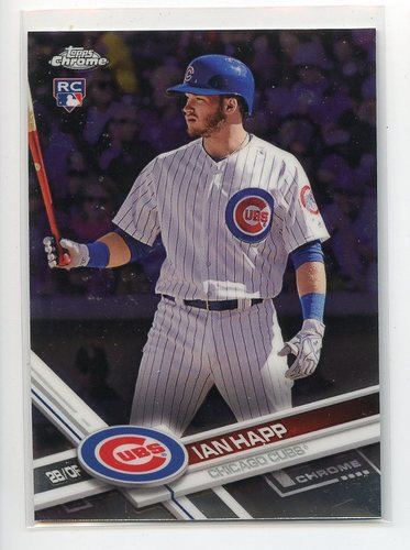 Photo of 2017 Topps Chrome Update #HMT66 Ian Happ RC