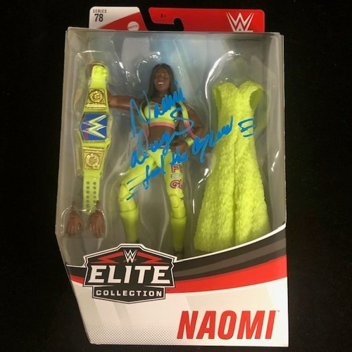 Photo of Naomi SIGNED Series 78 Elite Action Figure