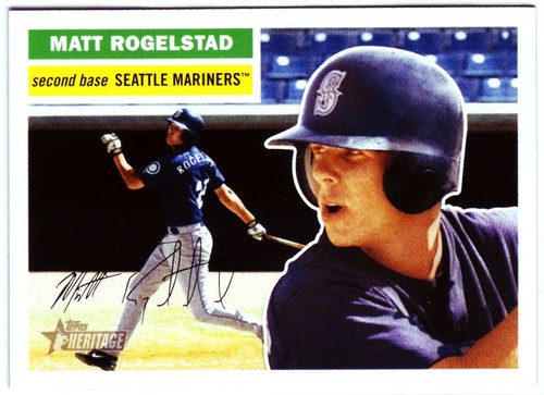 Photo of 2005 Topps Heritage #384 Matt Rogelstad RC