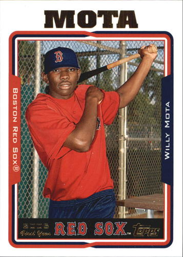 Photo of 2005 Topps Update #279 Willy Mota FY RC