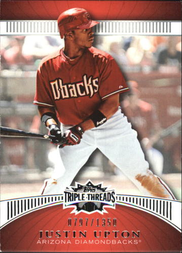 Photo of 2010 Topps Triple Threads #44 Justin Upton