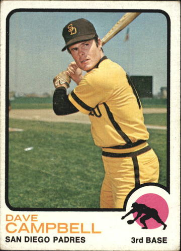 Photo of 1973 Topps #488 Dave Campbell