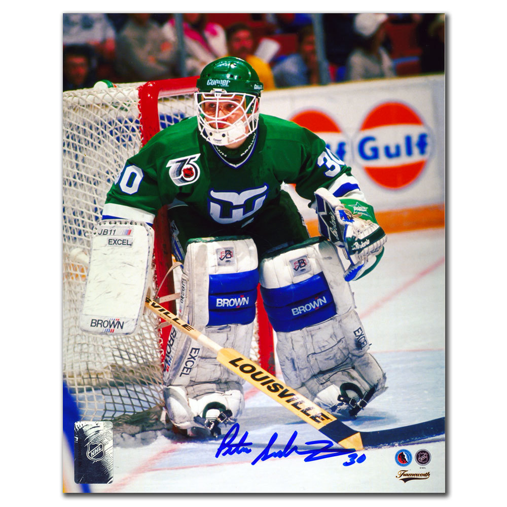Peter Sidorkiewicz Hartford Whalers Autographed 8x10