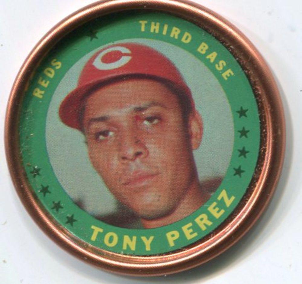 1971 Topps Coins #105 Tony Perez