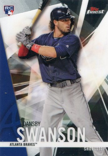 Photo of 2017 Finest #32 Dansby Swanson RC