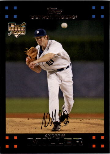 Photo of 2007 Topps #15a Andrew Miller Rookie Card