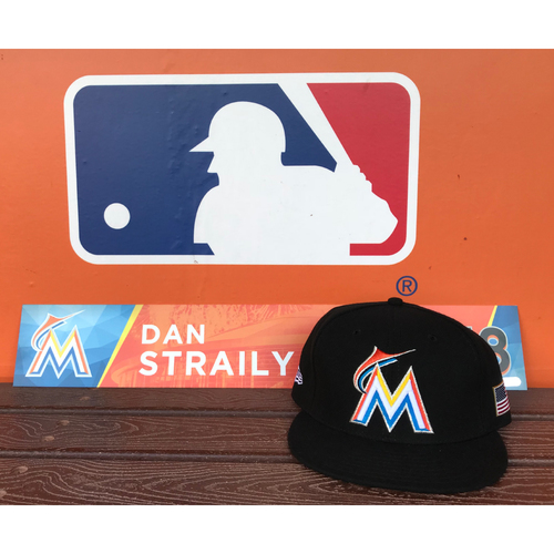 Photo of Game-Used Cap & Locker Tag: Dan Straily (Size - 7 1/2)
