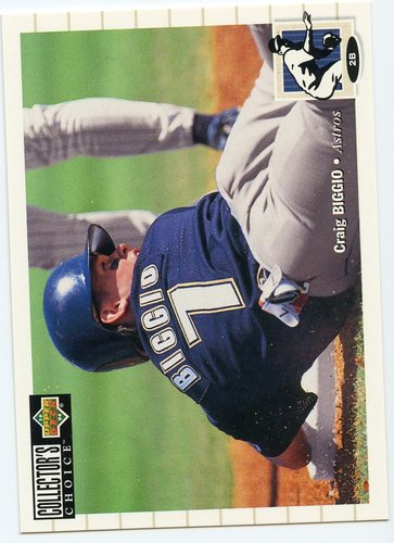 Photo of 1994 Collector's Choice #456 Craig Biggio