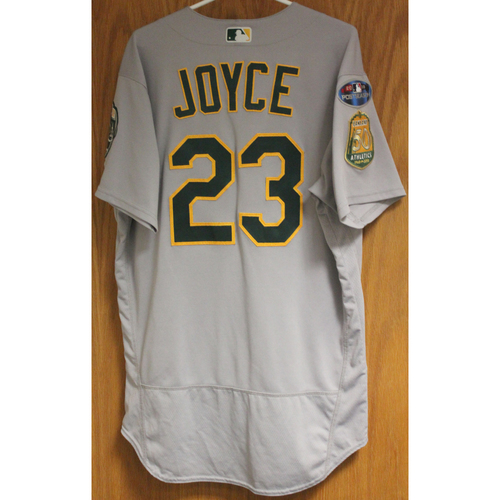 Photo of Game-Used Matt Joyce 2018 Jersey