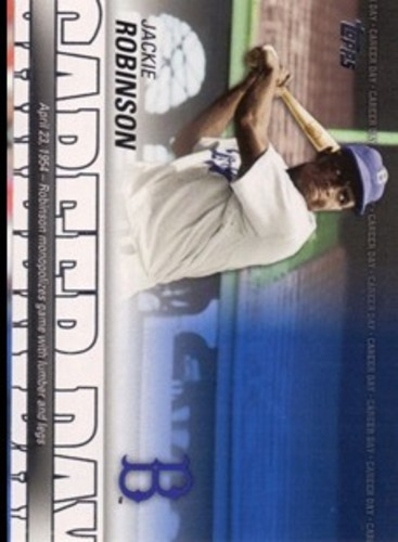 Photo of 2012 Topps Career Day #CD19 Jackie Robinson