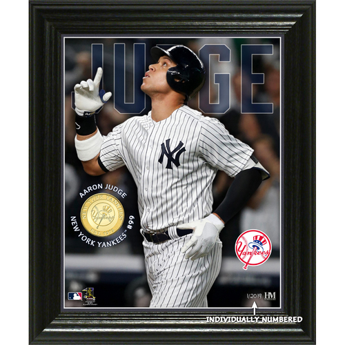 Photo of Serial #1! Aaron Judge Elite Series Bronze Coin Photo Mint