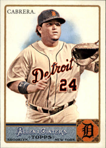 Photo of 2011 Topps Allen and Ginter #10 Miguel Cabrera
