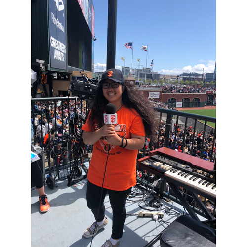 Photo of Giants Wives Auction:  Junior Announcer Experience - 7/24/19