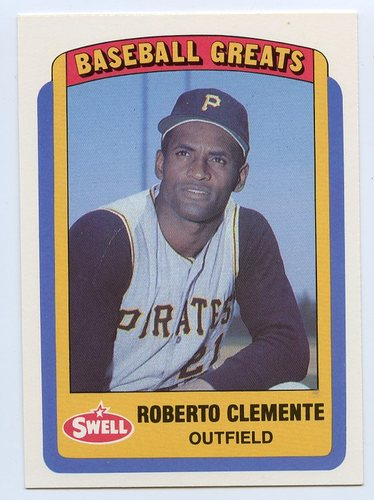 Photo of 1990 Swell Baseball Greats #20 Roberto Clemente