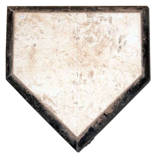 Photo of 12 Days of Auctions: Day 1 -- Home Plate -- Team-Issued -- Used During 2019 Season