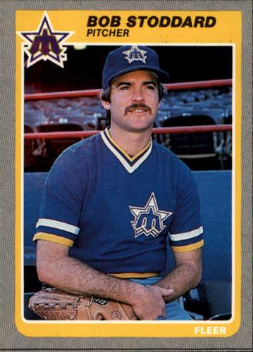 Photo of 1985 Fleer #502 Bob Stoddard