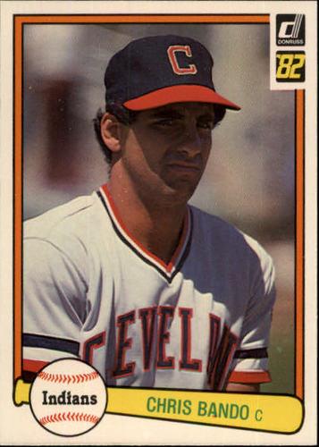 Photo of 1982 Donruss #551 Chris Bando