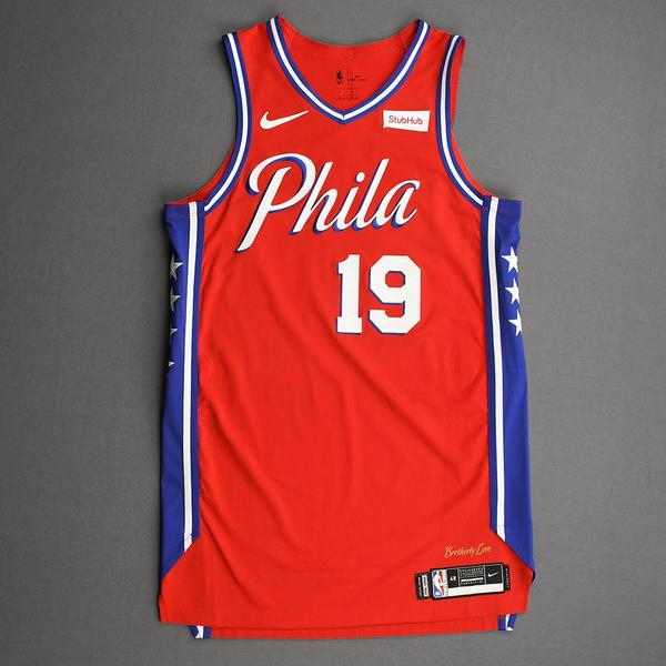 Image of Raul Neto - Philadelphia 76ers - Game-Worn Statement Edition Jersey - 2019-20 Season