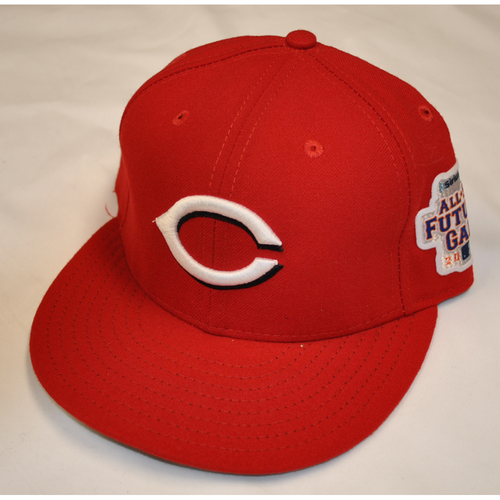 Photo of Game-Used Cap - 2013 All-Star Futures Game - Carlos Contreras (Cincinnati Reds) - Size 7 1/4