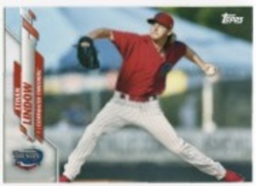 Photo of 2020 Topps Pro Debut #PD78 Ethan Lindow