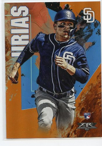Photo of 2019 Topps Fire Orange #61 Luis Urias
