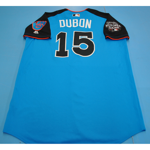 Photo of 2017 Futures Game - Mauricio Dubon Batting Practice Worn Jersey