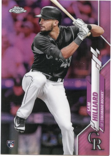 Photo of 2020 Topps Chrome Pink Refractors #67 Sam Hilliard
