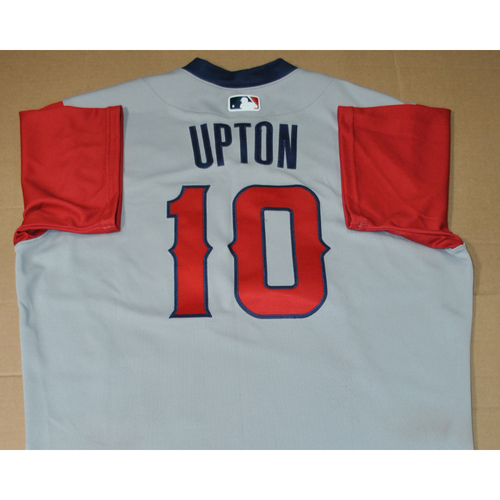 Photo of Game-used Jersey - 2021 Little League Classic - Los Angeles Angels vs. Cleveland Indians - 8/22/2021 - West, Justin Upton #10