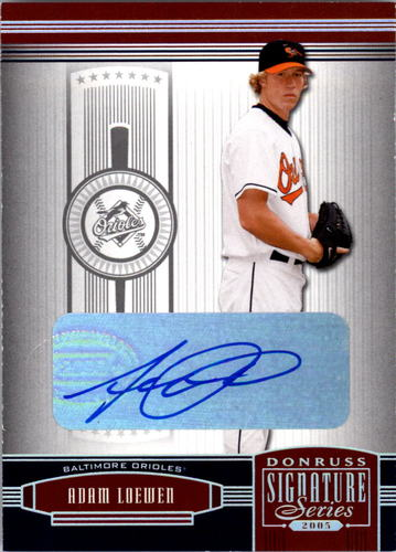 Photo of 2005 Donruss Signature Autograph Silver #19 Adam Loewen T5