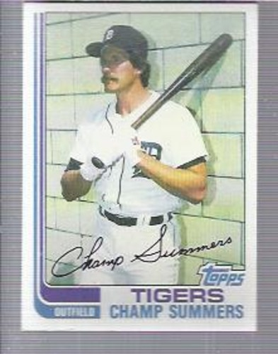 Photo of 1982 Topps #369 Champ Summers