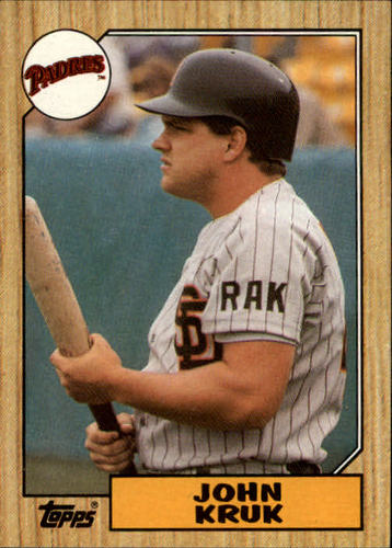 Photo of 1987 Topps #123 John Kruk RC