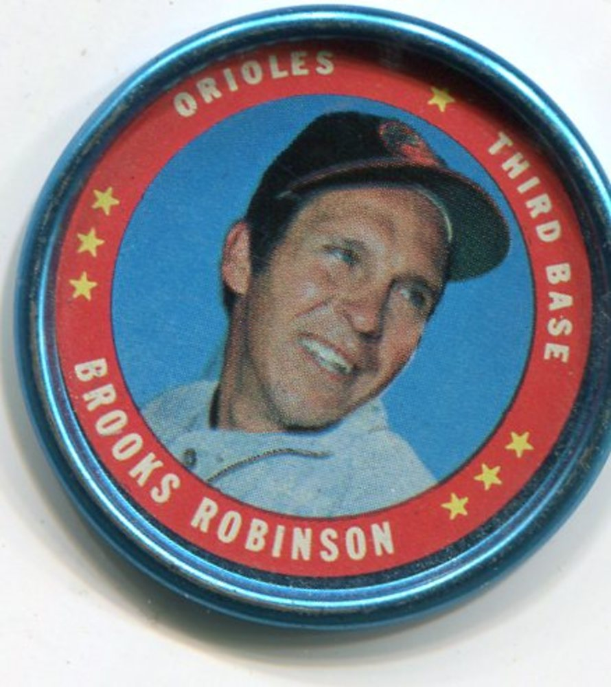 1971 Topps Coins #114 Brooks Robinson