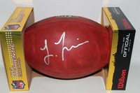 NFL - DOLPHINS LAREMY TUNSIL SIGNED AUTHENTIC FOOTBALL