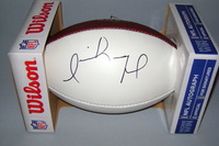 NFL - DOLPHINS ISAIAH FORD SIGNED PANEL BALL