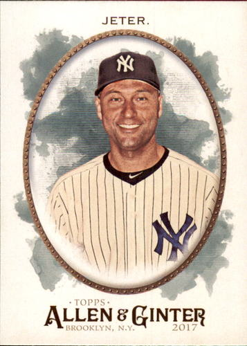 Photo of 2017 Topps Allen and Ginter #7 Derek Jeter