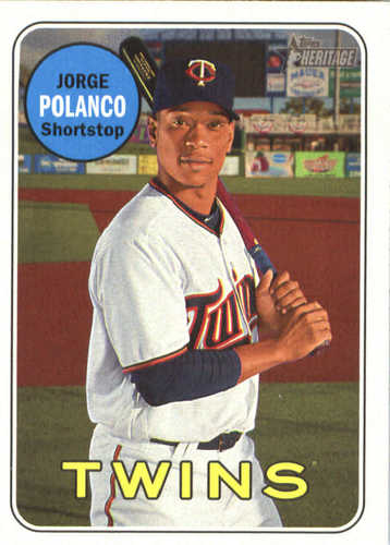 Photo of 2018 Topps Heritage #207 Jorge Polanco