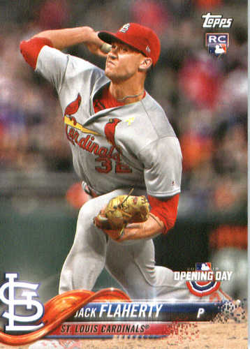 Photo of 2018 Topps Opening Day #130 Jack Flaherty