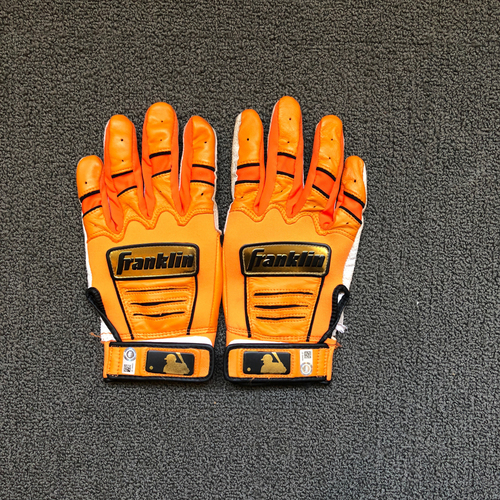 Photo of San Francisco Giants - Evan Longoria Game Used Batting Gloves
