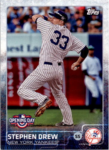 Photo of 2015 Topps Opening Day #135 Stephen Drew