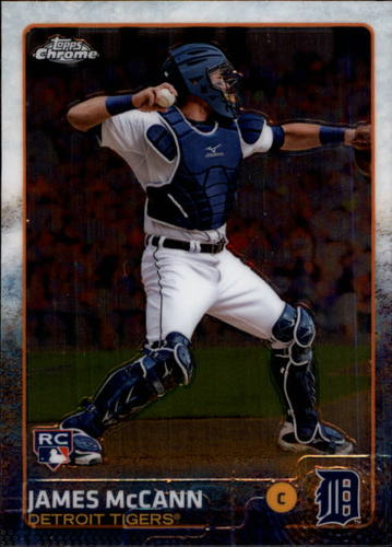 Photo of 2015 Topps Chrome #46 James McCann RC